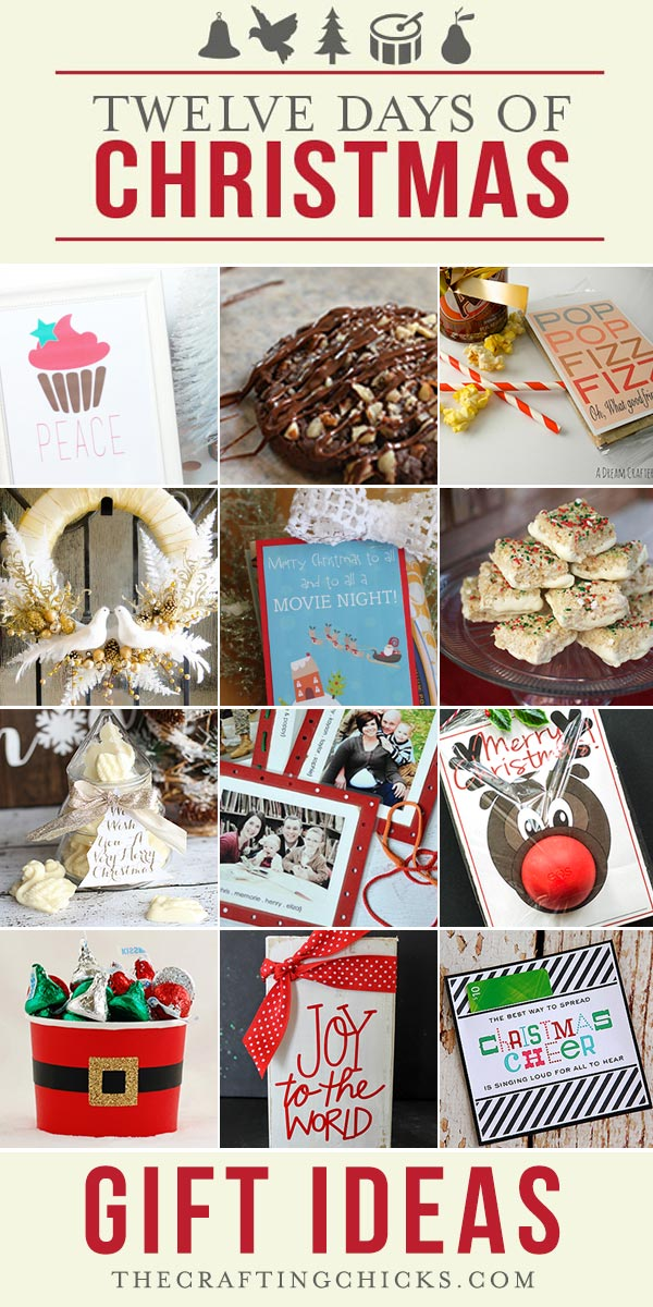 12 Days of Christmas Gift Ideas Part 2 - The Crafting Chicks