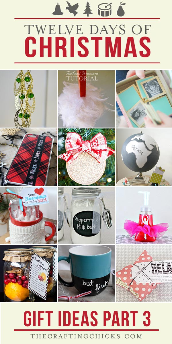 12 Days of Christmas Gift Ideas Part 3 - 12 Days Of Christmas Gift Ideas Part 3 - The Crafting Chicks