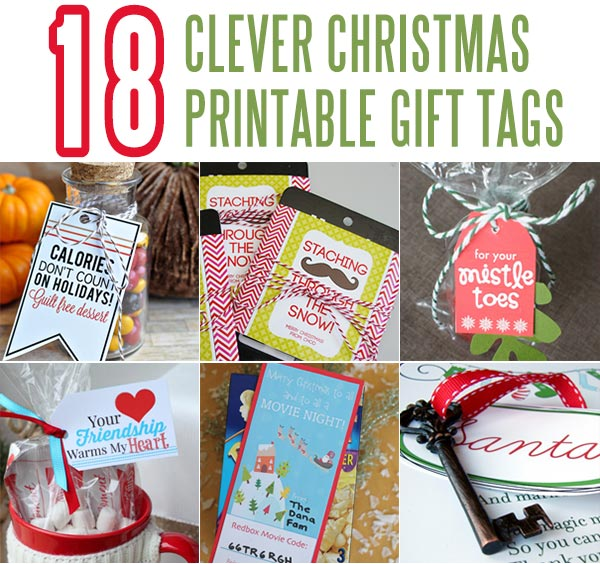18 Clever Christmas Printables