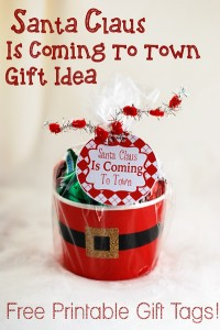 Easy Gift Giving with Hershey Kisses and Free Printables