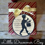 Little Drummer Boy Gift Tag::Bloggers Best 12 Days of Christmas