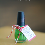Ladies Dancing Fingernail Polish Gift Idea::Bloggers Best 12 Days of Christmas
