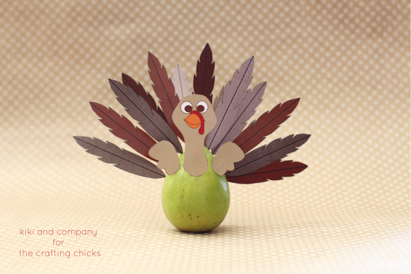 Project Turkey at the crafting chicks. perfect for thanksgiving day.