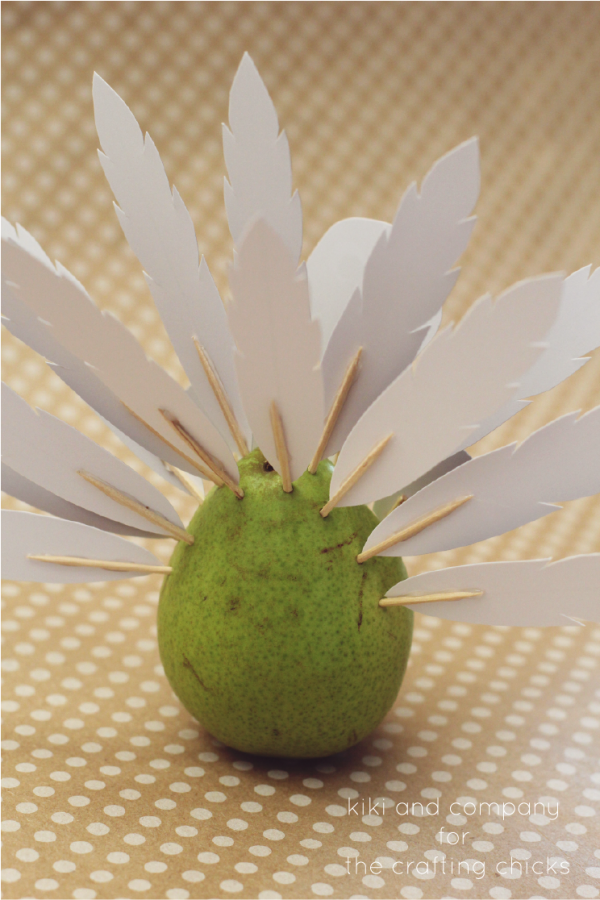 Project Turkey at the crafting chicks. perfect for thanksgiving. so easy and cute!