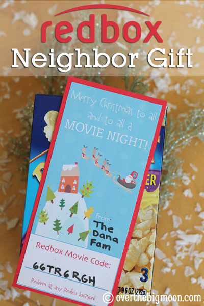 Redbox Neighbor Gift Bloggers Best 12 Days Of Christmas The Crafting S
