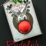 Rudolph Christmas Gift::Bloggers Best 12 Days of Christmas