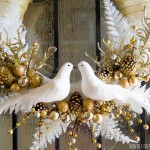 Calling Birds Holiday Wreath::Bloggers Best 12 Days of Christmas