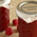 Raspberry Sauce // DIY Gift