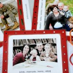 Family Lacing Cards::Bloggers Best 12 Days of Christmas