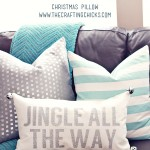 Jingle All the Way Christmas Pillow