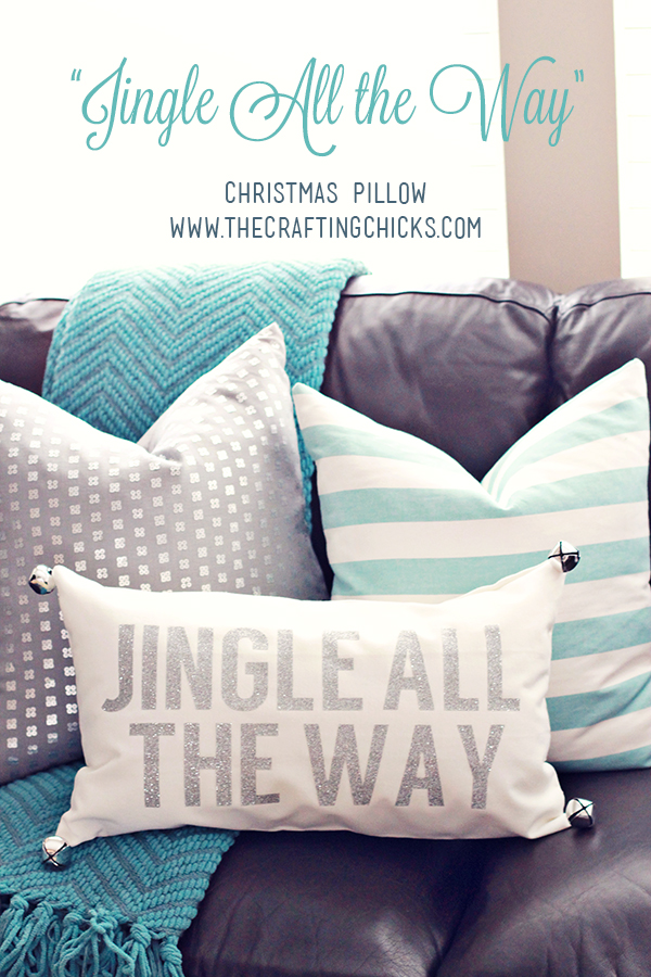 DIY Christmas Pillow | Jingle All the Way | Christmas Decor | Crafts
