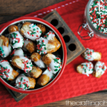 St. Nick's Nibblers – The Easiest Chocolate Covered Pretzels!