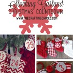 Christmas Stocking Garland Advent Calendar