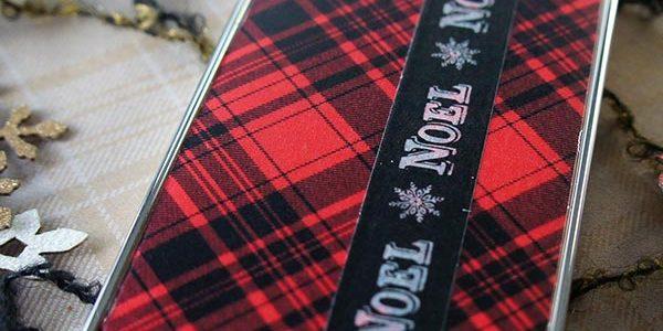 DIY Washi Phone Case::Bloggers Best 12 Days of Christmas