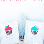 Peace and Joy Printables::Bloggers Best 12 Days of Christmas