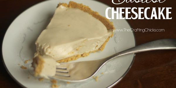 Easiest Cheescake and Blendtec Giveaway