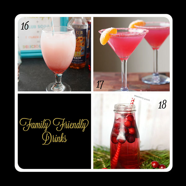 Fabulous family friendly drinks for your New Year's Eve party