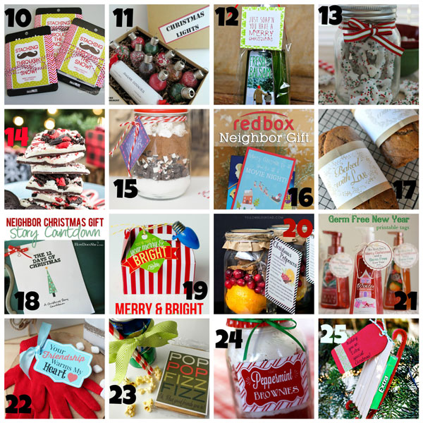 50 of THE BEST Neighbor Gift Ideas! - The Crafting Chicks