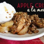 Apple Crisp a la mode