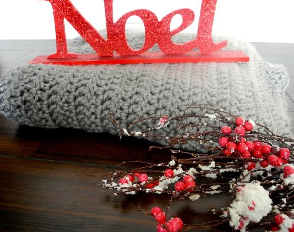 DIY Crocheted Winter Blanket