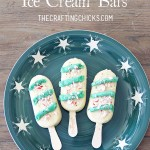 Christmas Festive Ice Cream Bars