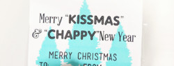 Chapstick & Kisses Christmas Gift Idea