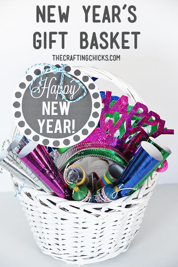 sm new years gift basket header. Black Bedroom Furniture Sets. Home Design Ideas