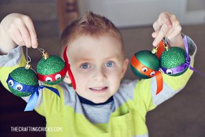 sm ninja turtle ornaments 1