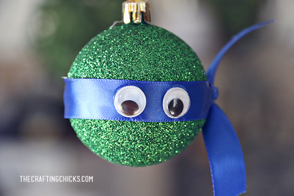 DIY Ninja Turtle Ornaments | Kids Craft | Christmas Gift Idea