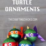 DIY Ninja Turtle Ornaments