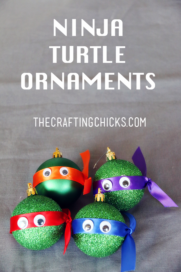 sm ninja turtle ornaments pin