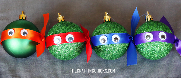 sm ninja turtle ornaments