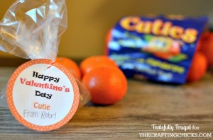 Cutie Valentine: A Healthy Treat with FREE Printable