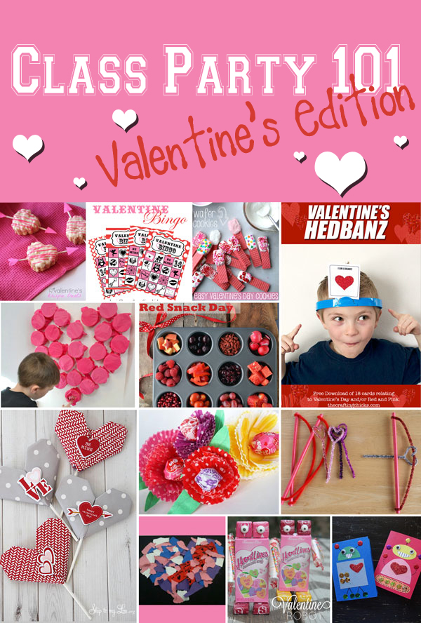 Classroom Birthday Party Games ~ Class party valentine s edition the crafting chicks