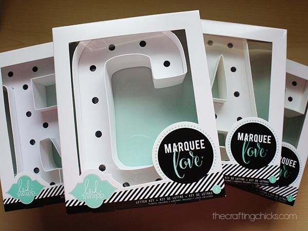 create marquee letters the crafting chicks With michaels marquee letters