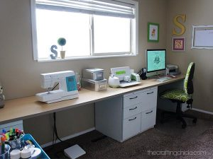 Office and craft room
