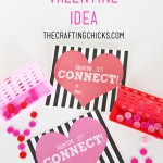 "Let's ""CONNECT"" Valentine! *Free Printable"