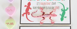 Leaping Lizard Valentine *Free Printable