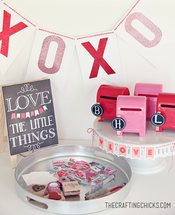DIY Love Letter Station