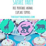 Safari Party Cupcake Toppers