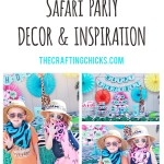 Safari Party Decor for Boy or Girl Party