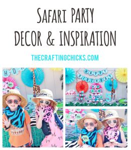 sm safari party & decor header