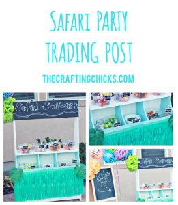 sm safari party trading post header
