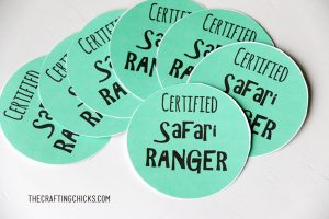 sm safari ranger badge