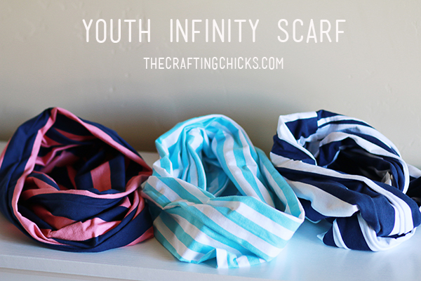 Youth Infinity Scarf in 15 Minutes!