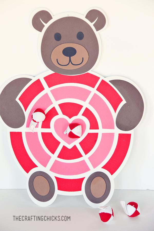 sm valentine dart board