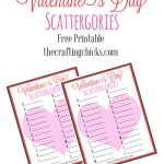 Valentine's Day Scattergories
