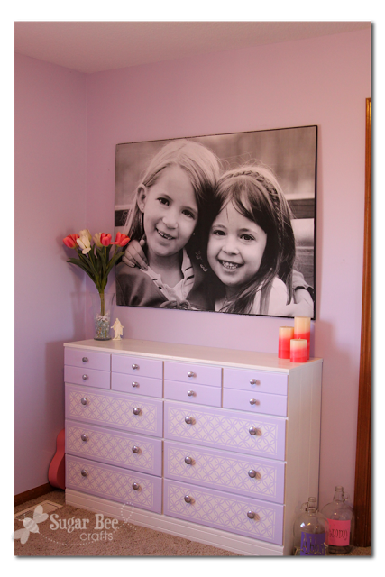 DIY Giant Picture Tutorial | Gallery Wall