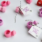 Gem Eraser Valentines – Crazy Cute