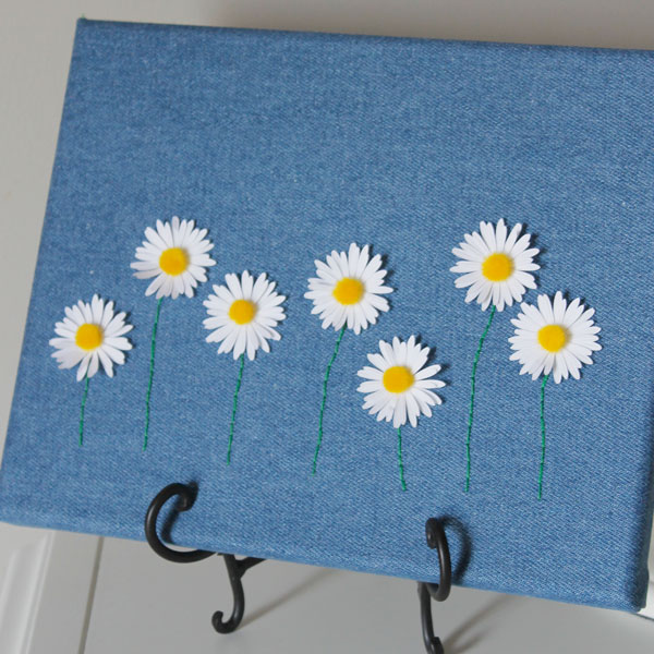 Daisies on Denim